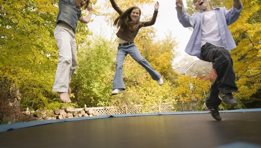 The majority of incidents occurred due to colliding with another person on the trampoline.