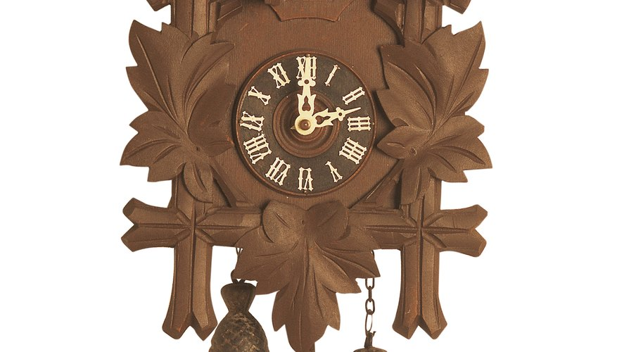 how to put chains on gears of cuckoo clocks our pastimes