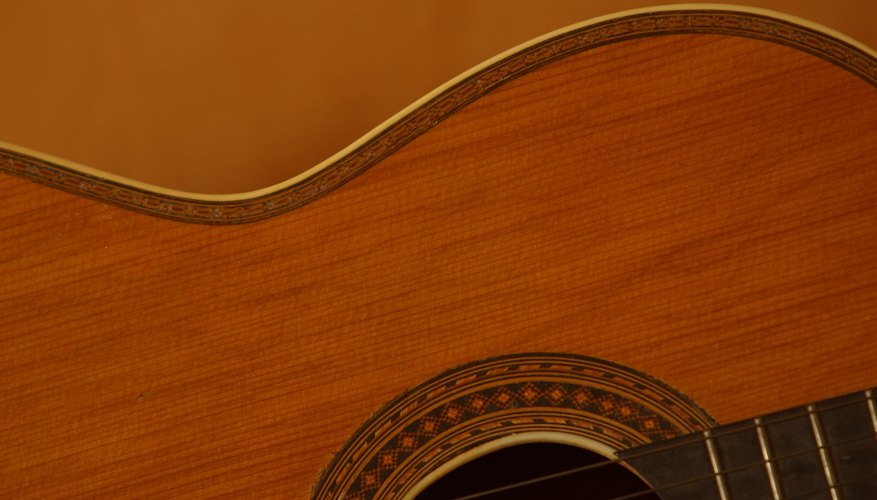 Protect your expensive guitar with a custom-built case.