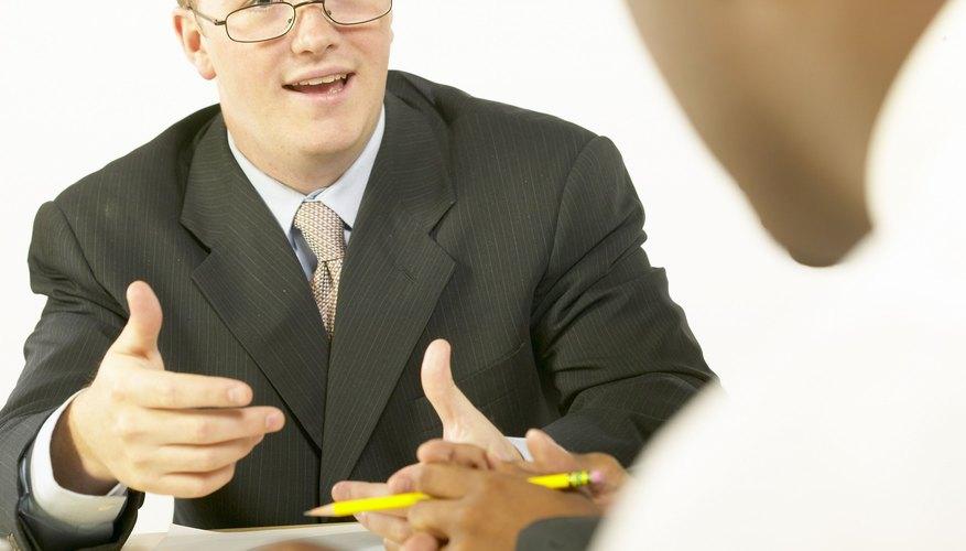 Even minimum-wage job interviews require careful dressing.