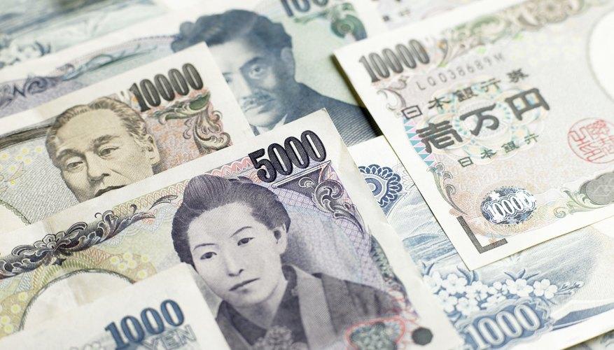 Los euros son EUR y los yenes japoneses son JPY.