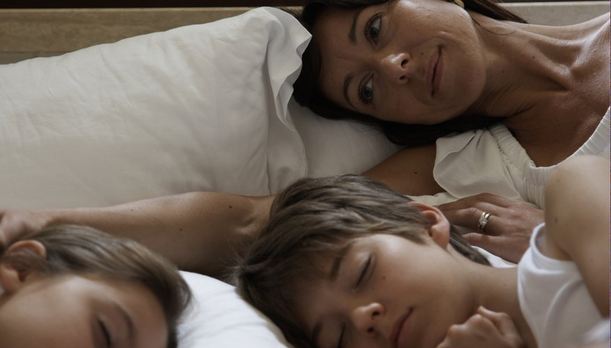Quality of sleep suffers for everyone when children do not sleep in their own beds.