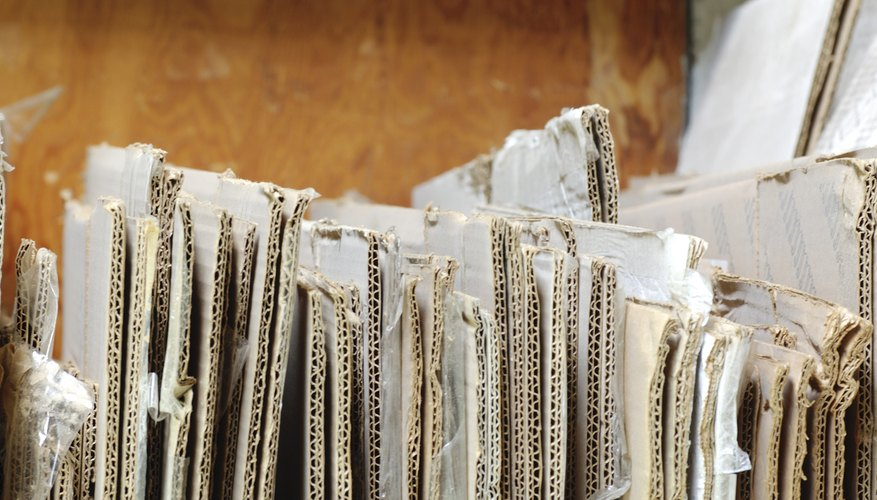 Cómo hacer cartón corrugado.