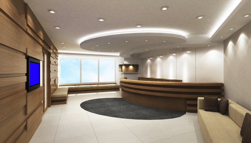 How To Design A Front Office Reception Area Bizfluent
