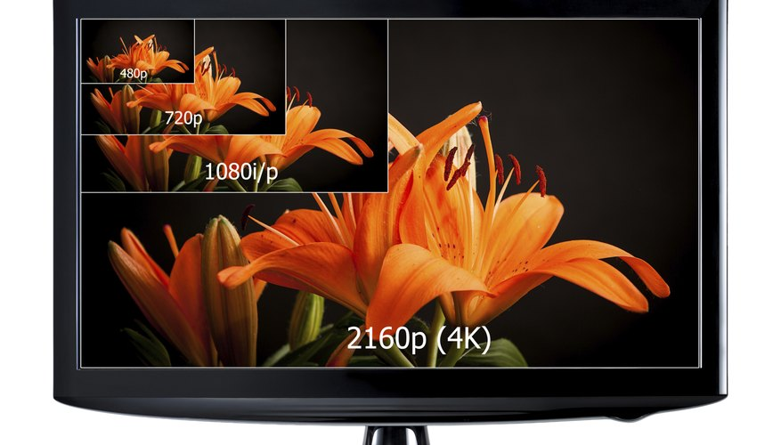 High definition TVs require wide, high resolution images.