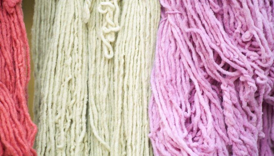 Tiñe tú mismo el hilo del color que más te guste.