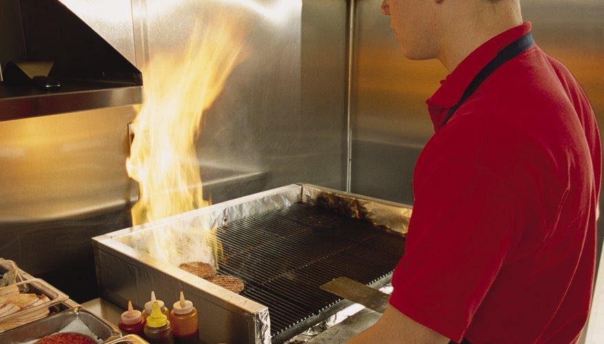 Todas las áreas de la cocina deben mantenerse limpias y desinfectadas.