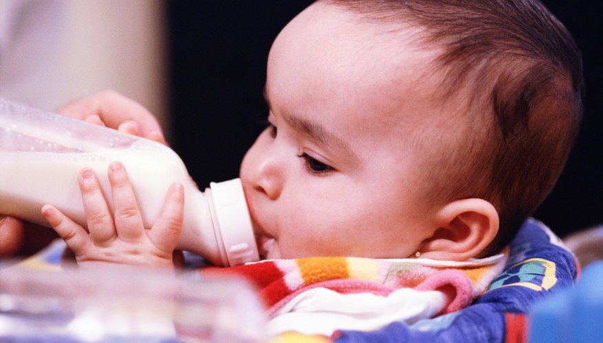 Consider donating old baby bottles with your unused formula.