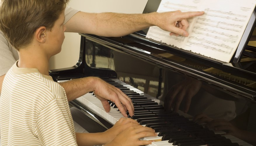 Music lessons often boost confidence in children.