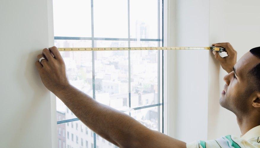 Las dimensiones se usan en el sector de la construcción.