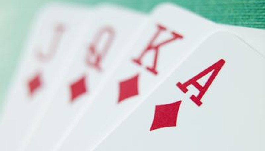 Dozens of games are based on the standard playing card deck.