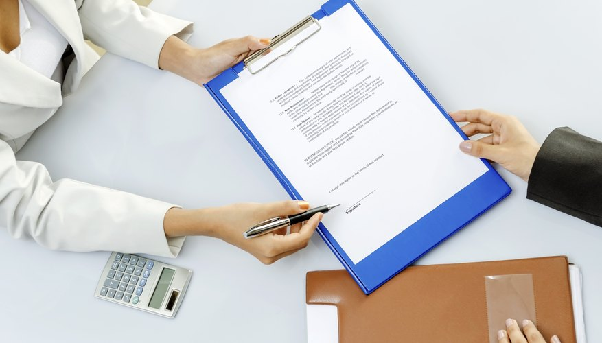 Types Of Illegal Or Invalid Contracts Bizfluent