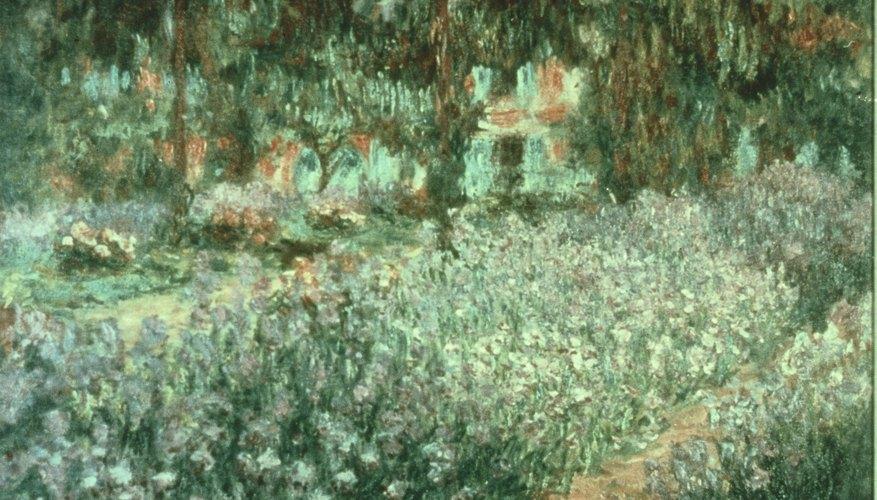 El estilo impresionista retrata objetos con pinceladas grandes y no se enfoca en los detalles.