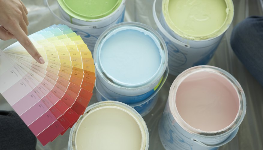 Paint is a quick way to add color to the room.
