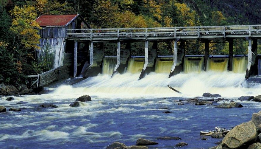 Energía hidroeléctrica y otras energías renovables.