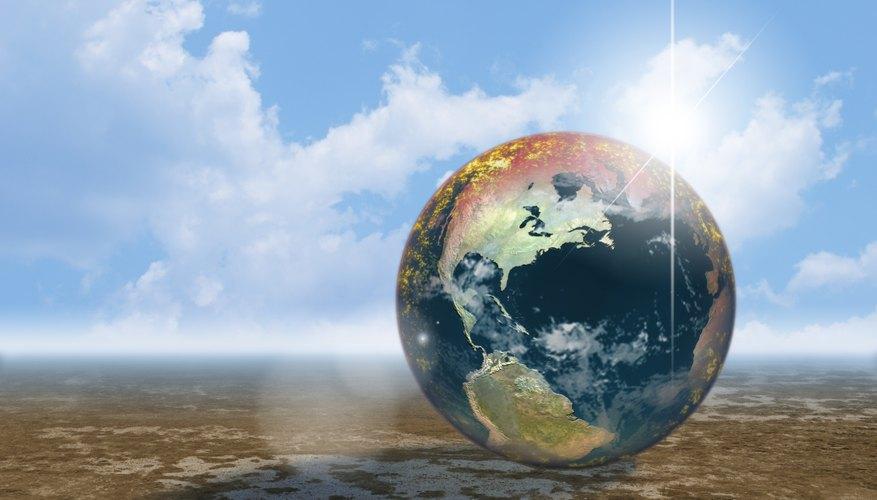 Calentamiento global y sus causas.