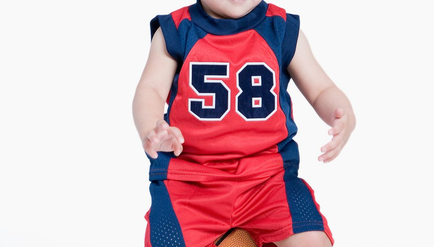 With a lot of patience, you can teach your preschooler basketball basics.