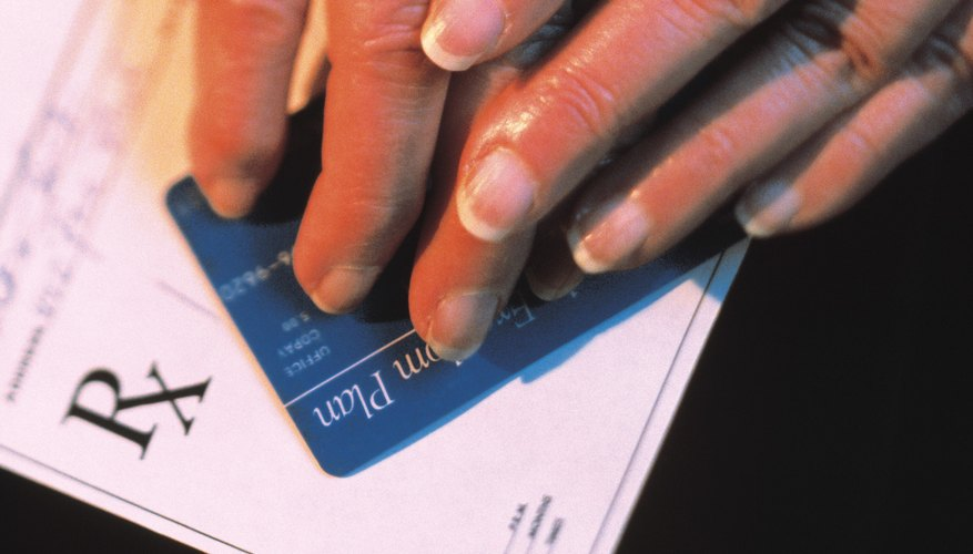 Your medical insurance card contains information including your prescription drug policy number.