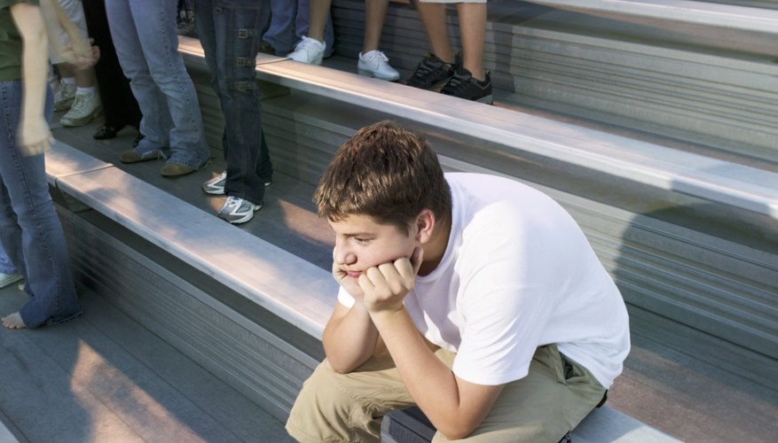 Adjusting to a new social environment can be excruciatingly difficult for teens.
