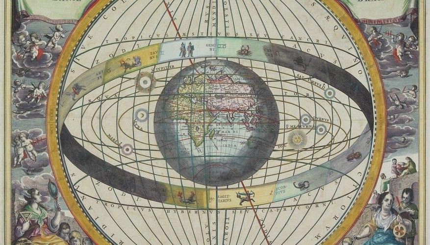 Los signos zodiacales se relacionan con los elementos básicos del fuego, el aire, el agua y la tierra.