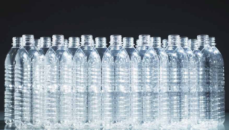 Plastic bottles are cheap and easy to produce.
