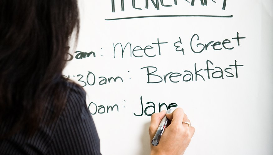 Event planners develop many important qualifications that should be featured on their resumes.