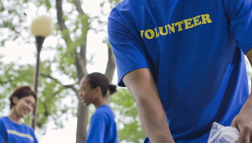 Volunteering allows teens to give back to their community.