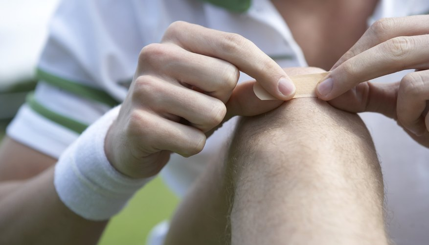 Cellulitis typically enters through a cut or scrape.