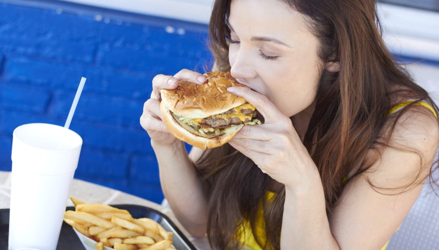 When we eat, chemical substances are dissolved by our saliva.