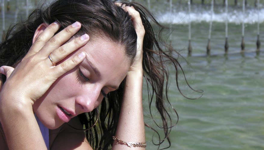 Dizziness and lightheadedness are common in the beginning of the first trimester.