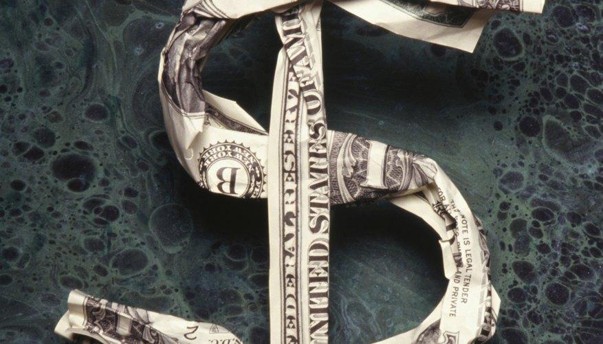 El acrónimo USD hace que sea fácil encontrar los tipos de cambio.