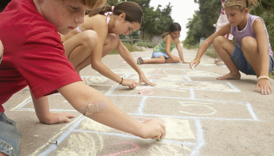 Is there really a better art supply for children than chalk?