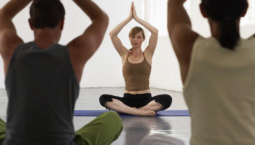Relaxation exercises, meditation and prayer often help nerves calm down.
