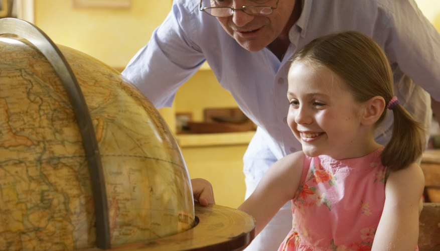 Teach kindergartners about the countries of their ancestors.