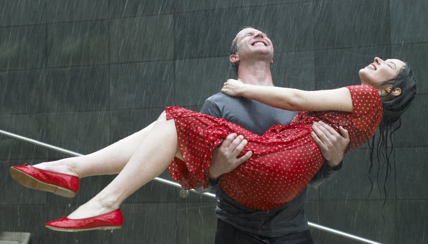 Dance in the rain for some romance and unforgettable memories.