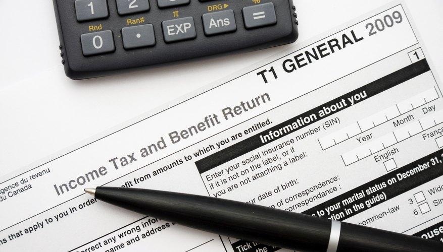 An income tax return.