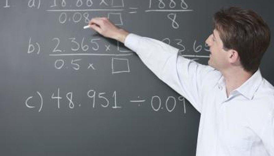 Fractions convert to decimals and percent.