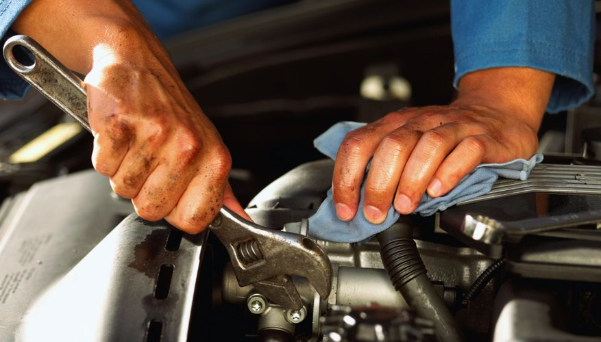 Only professional mechanics can fix hydrostatic leaks.