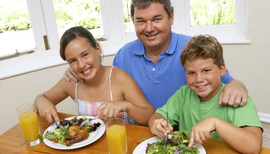 Families can learn how to eat healthy while at camp.