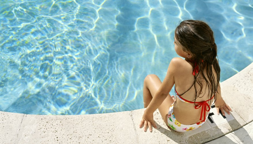 The chlorine we use in swimming pools is an example of a halogen.