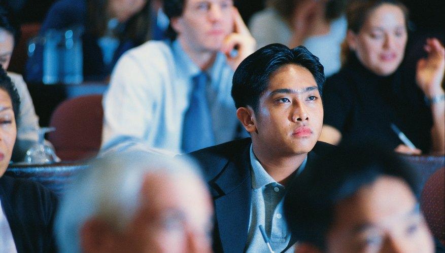 Involucrar a la audiencia es clave para llevar adelante un seminario exitoso.