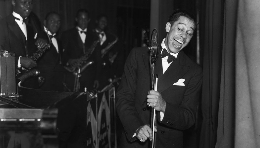 American jazz band leader and singer Cab Calloway