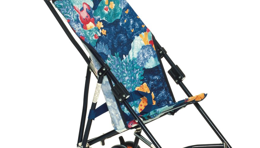 Most umbrella strollers feature a simple design with hammock seating.
