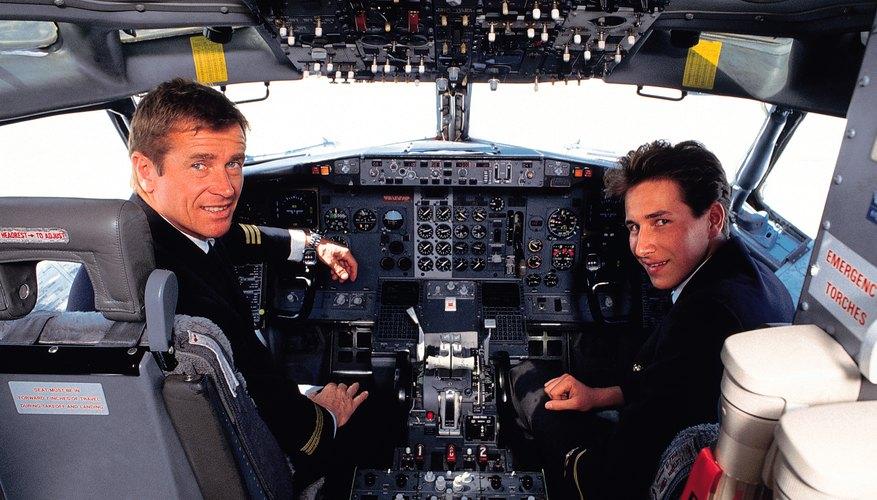 Preparación para ser piloto.