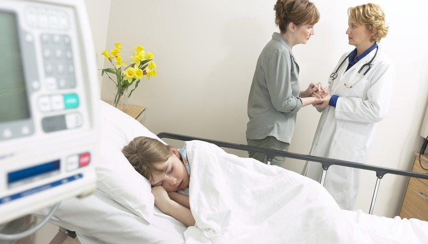 La mayoría de los hospitales pediátricos proporcionan espacio de juego y actividades diarias.