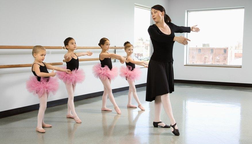 Los propietarios de estudios de baile también pueden ser instructores.