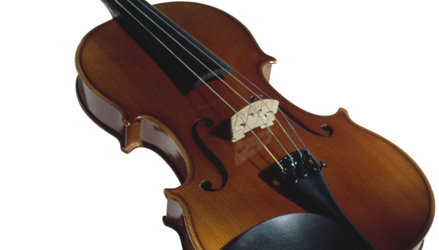 There are several different musical styles you can play a violin in..