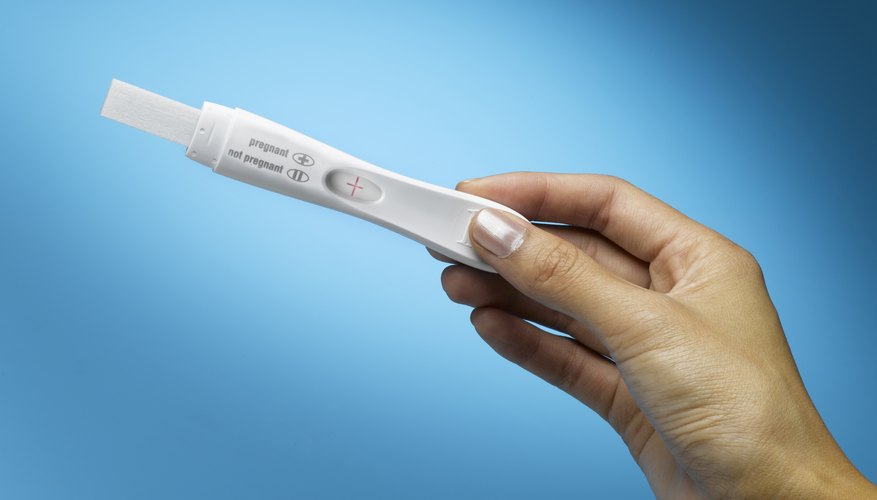 At age 40, a positive pregnancy test might cause concerns about birth defects.