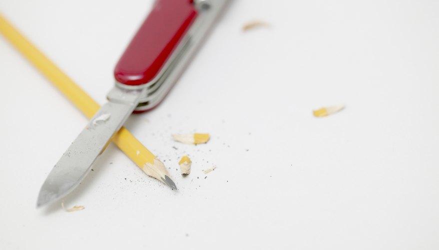 Si puedes sacarle punta a un lápiz con una navaja, entonces puedes tallar.