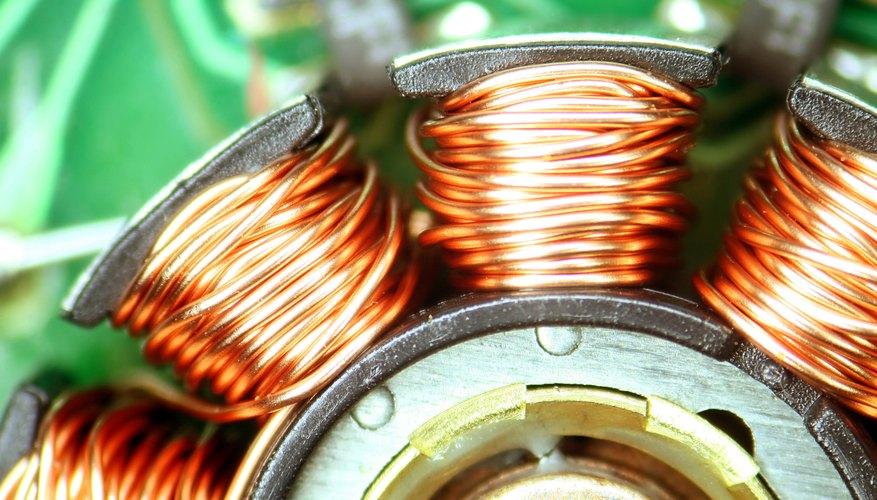 Un motor eléctrico de corriente continua también se puede utilizar como un generador de CC.